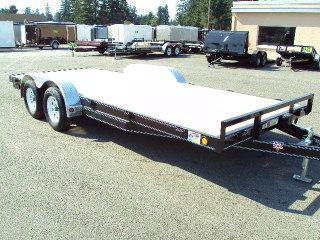 2020 PJ Trailers 7x16 7K Car / Racing Trailer
