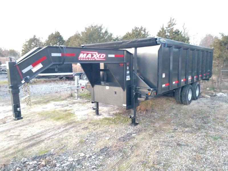 2019 MAXXD 96x20 Tandem Dual Dump Trailer
