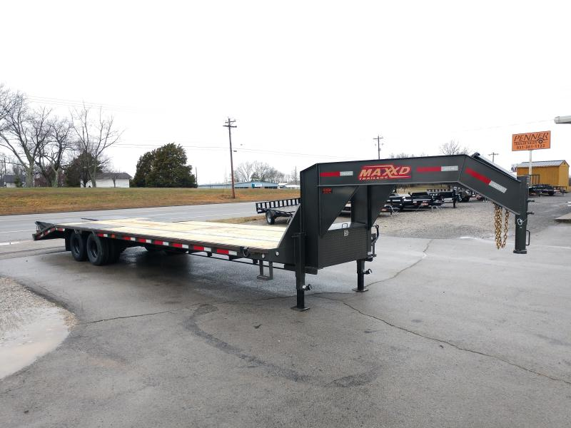 2020 MAXXD LDX - Low Profile Tandem Dual Flatbed Gooseneck Flatbed Trailer