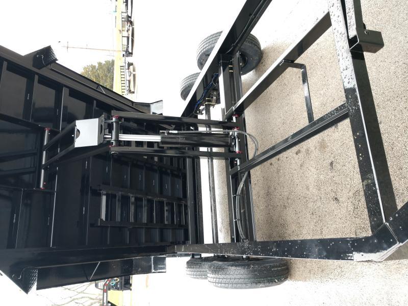 83X16 Lamar Trailers Low-Pro Dump (DL) 14K