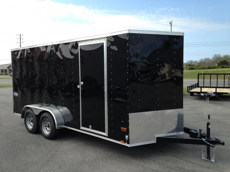 7 X 16 Enclosed Trailer - Cargo Express