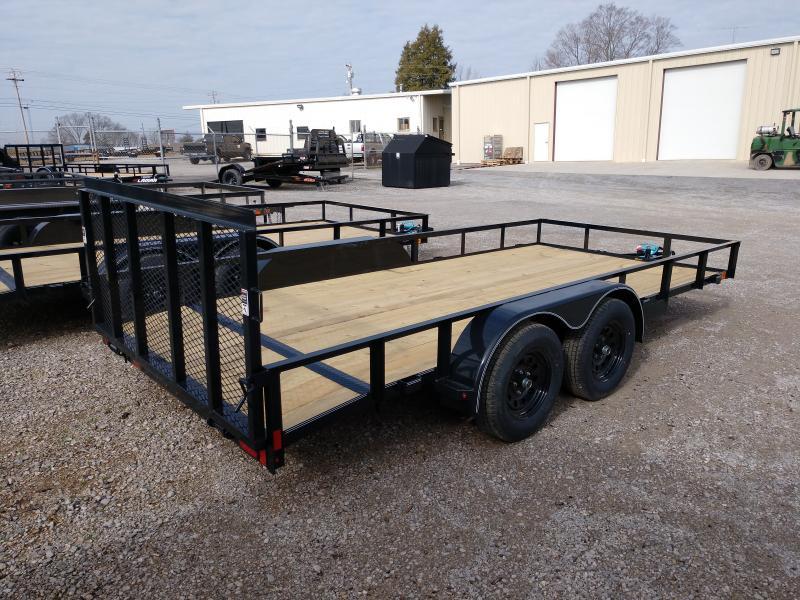 2020 Lamar Trailers Tandem Axle Utility 83x16