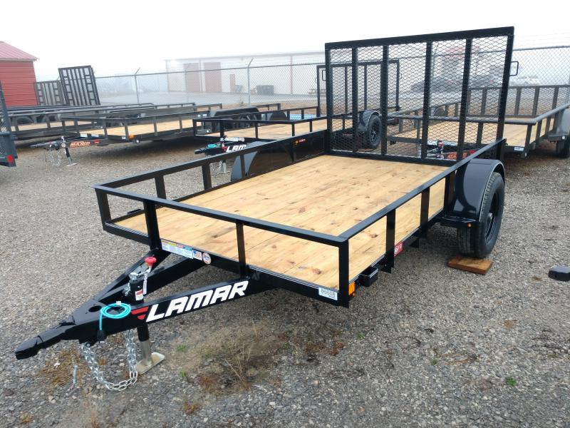 2020 Lamar 77x10 Single Axle Utility Trailer