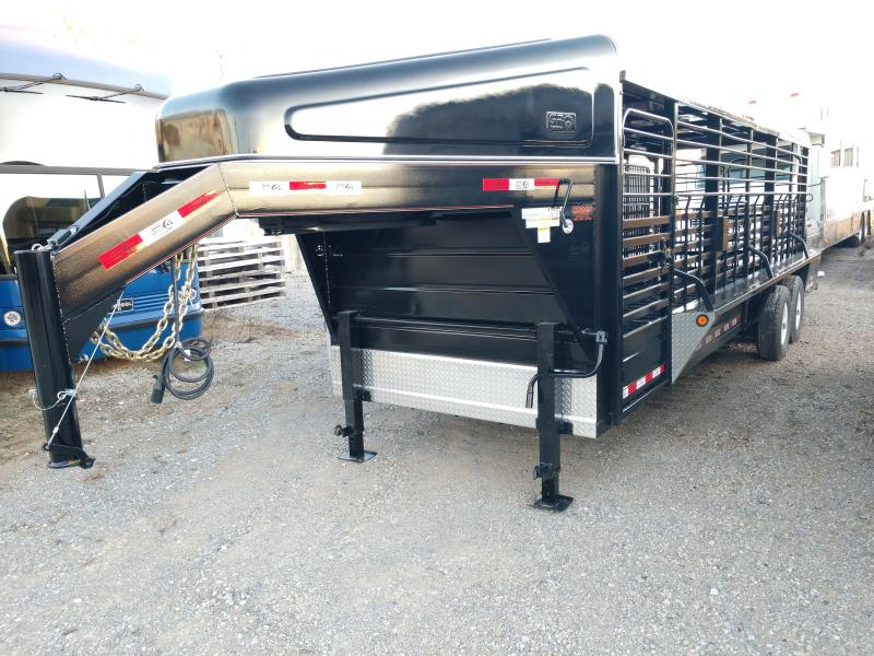"2020 GR Trailers 6'8"" x 24 Livestock Trailer"