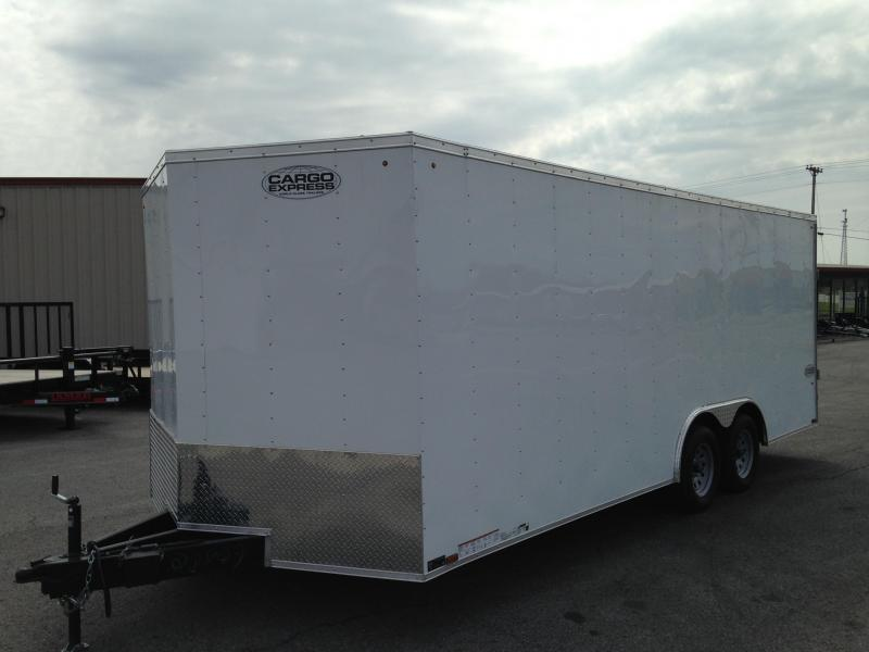 8.5 X 20 Enclosed Car Hauler - Cargo Express