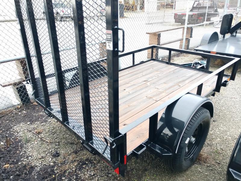 2019 Lamar 60x8 Single Axle Utility Trailer