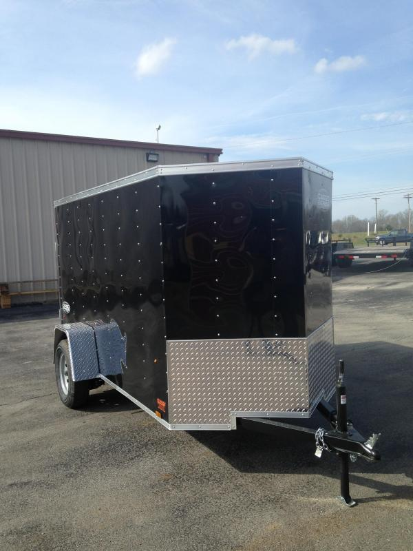 5 X 10 Enclosed Trailer - Cargo Express