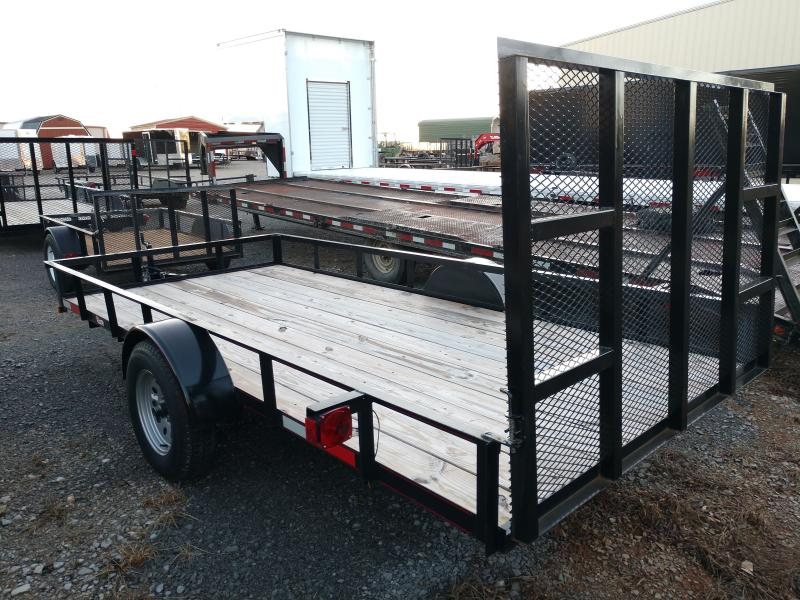 Used 6x14 Straight Deck Utility w Ramp
