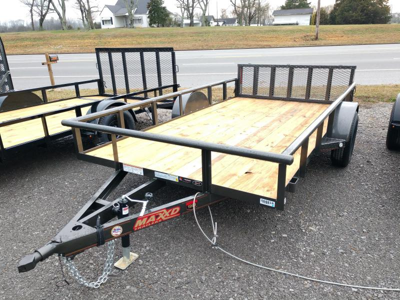 2020 MAXXD 77x12 Single Axle Utility Trailer