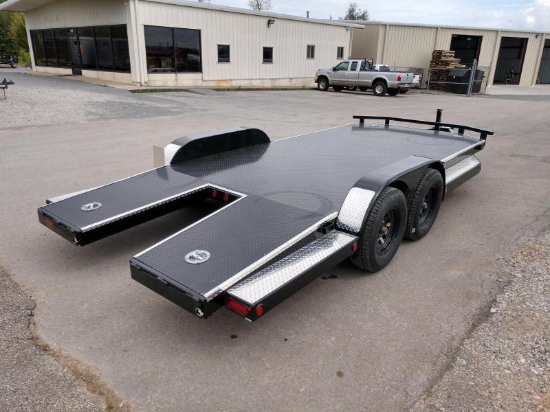 """83 X 18 5"""" Tube Frame Car Hauler - Maxxd"""