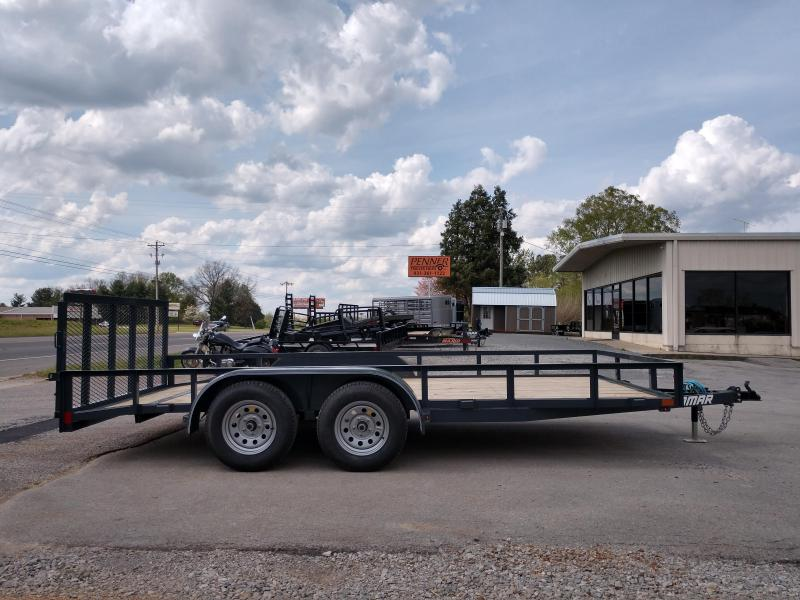83 X 16 Utility Trailer w/ Dovetail - Lamar
