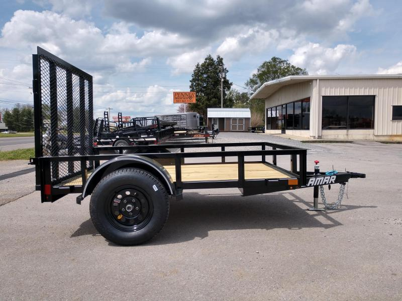 60 X 8 Single Axle Utility - Lamar