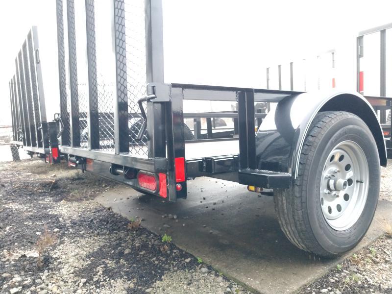 2018 Lamar 60x8 Single Axle Utility Trailer