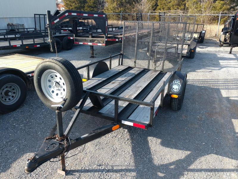 2005 Other Used 60x10 Motorcycle/Utility Trailer Motorcycle Trailer