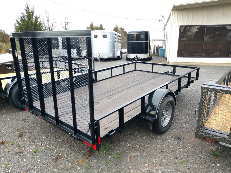 2018 Lamar 77x12 Single Axle Utility Trailer
