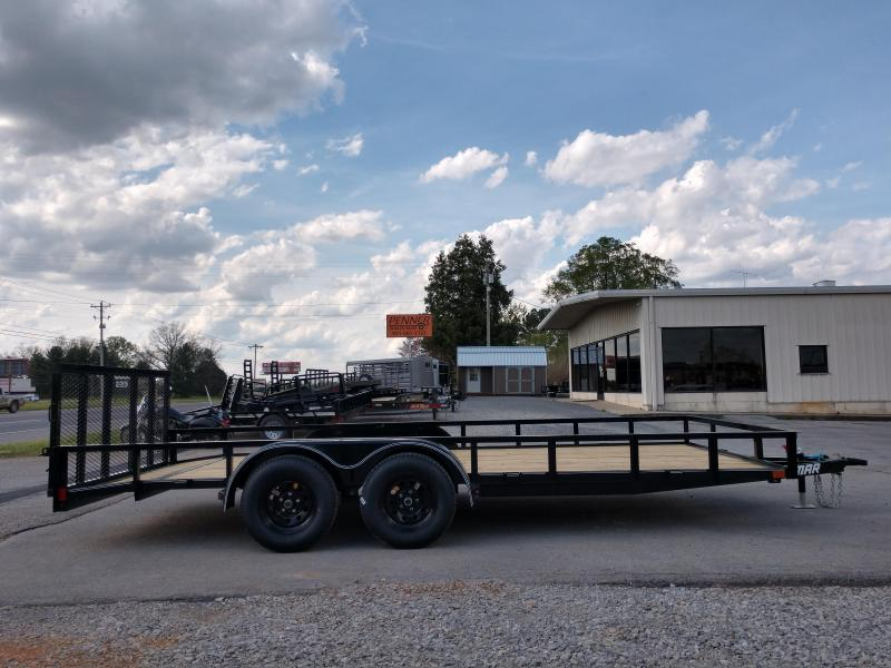 83 X 18 Tandem Axle Utility w/ Dovetail - Lamar