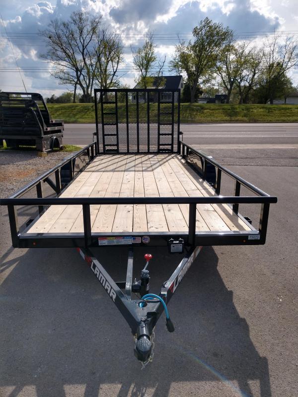 83 X 18 HD Tandem Axle Utility - Lamar
