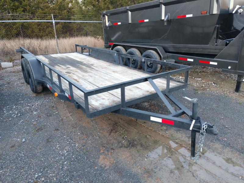 Used 77x18 Utility Trailer