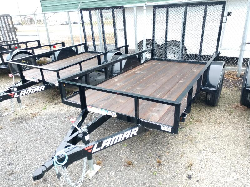 2019 Lamar 60x10 Single Axle Utility Trailer
