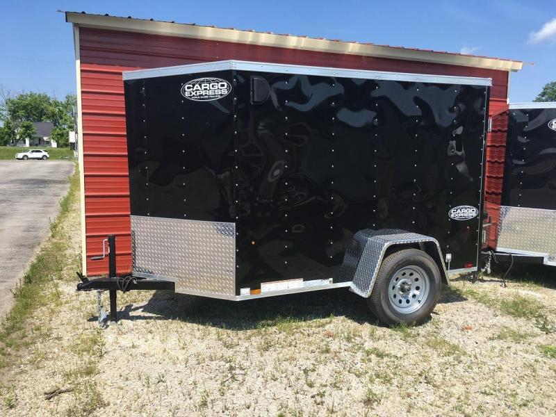 5 X 8 Enclosed Trailer - Cargo Express