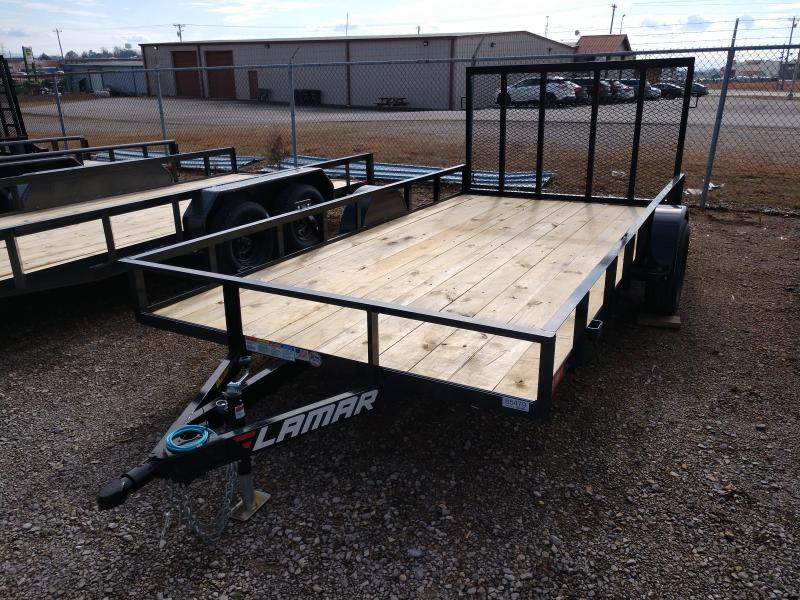 2020 Lamar Trailers Single Axle Utility 83x14