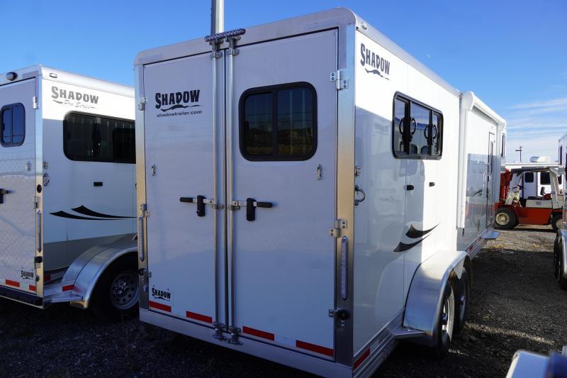 2020 Shadow Trailers 69240S-3SL-GN-E-LQ Horse Trailer