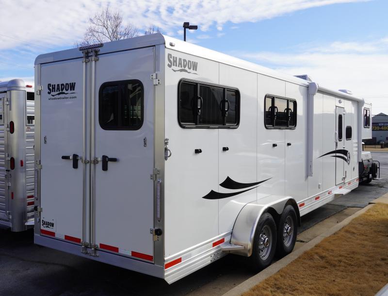 2020 Shadow Trailers 69286S-4SL-GN-E-LQ Horse Trailer