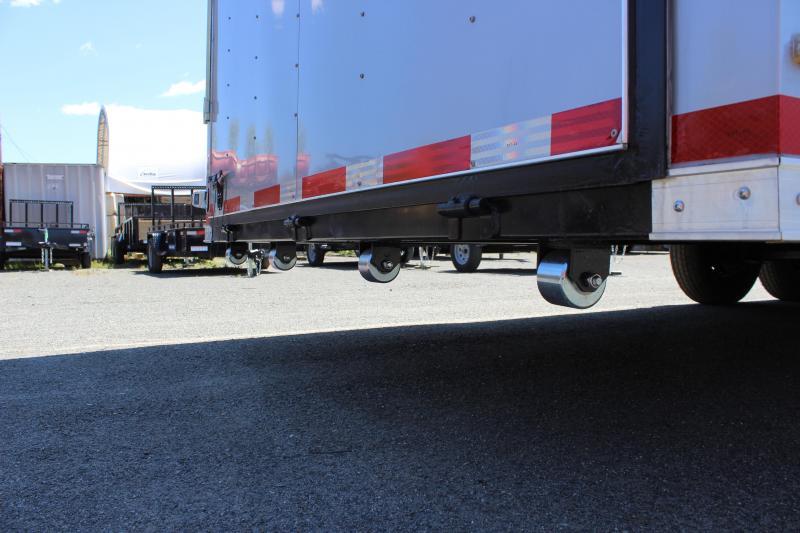 2020 Lark United 8.5x34 Tri-Axle Enclosed Car Hauler Trailer