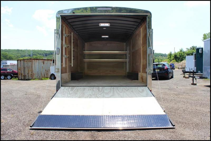 2020 Sure-Trac 8.5x18 10K Landscape Pro Enclosed Cargo Trailer