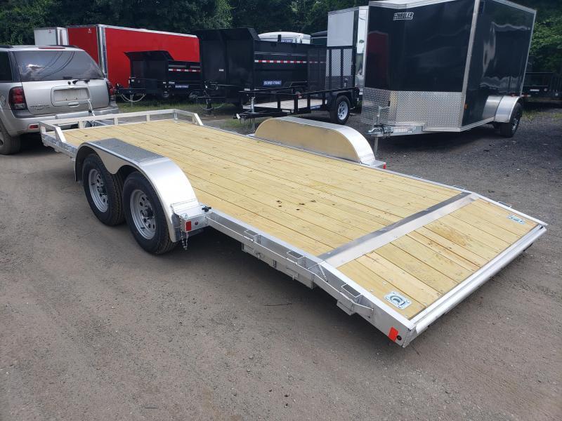 2020 Mission 7x18 Wood Deck Aluminum Car Trailer