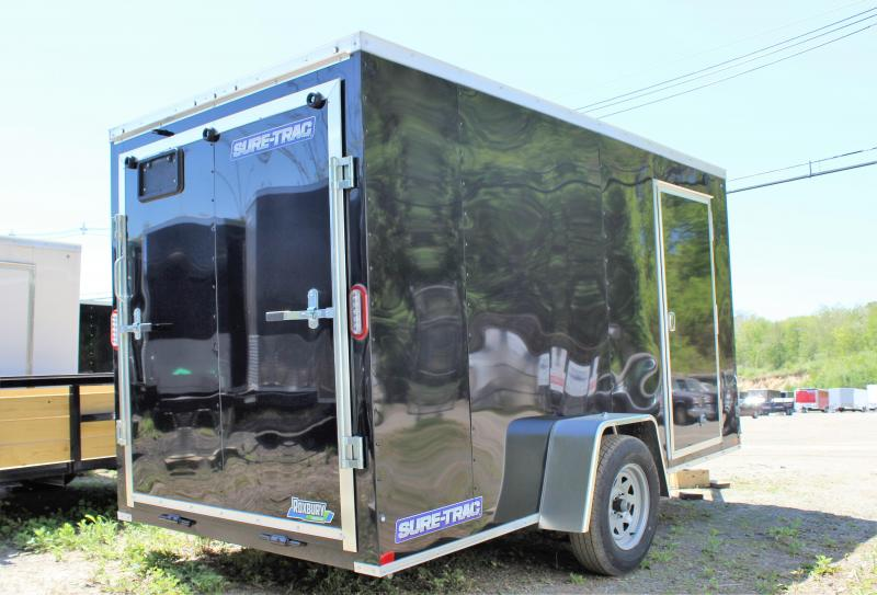 2020 Sure-Trac 6x12 ST Series Wedge Front Enclosed Cargo Trailer