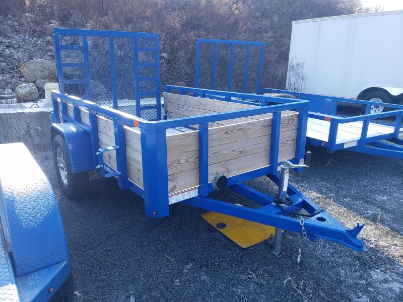 2019 Sure-Trac 5x8 3-Board High Side Utility Trailer