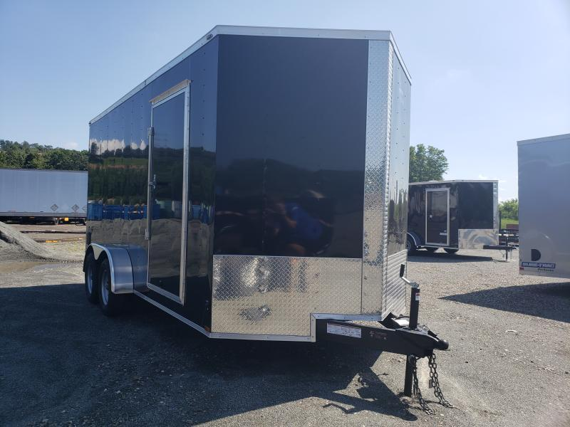 2020 Lark 7X16 Enclosed UTV Cargo Trailer [TORSION AXLES]