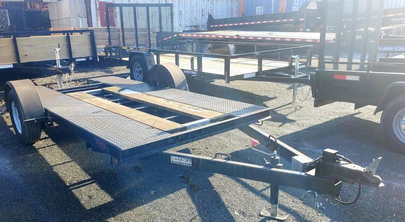 2008 D&D 68x12 Open Center Utility Trailer