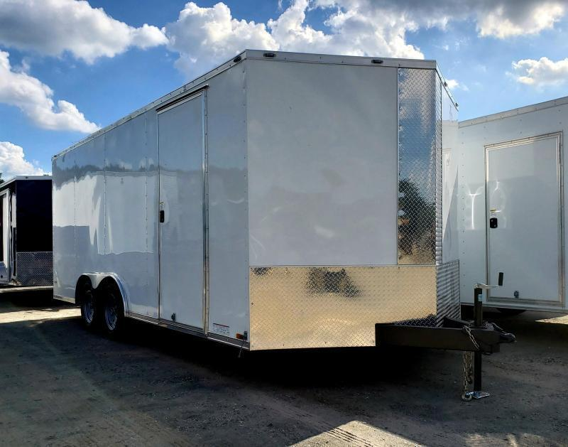 2020 Anvil 8.5x18 7K Enclosed Car Hauler Trailer