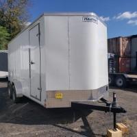 2019 Haulmark Passport Deluxe 7x16 Enclosed Cargo Trailer EXTRA HEIGHT