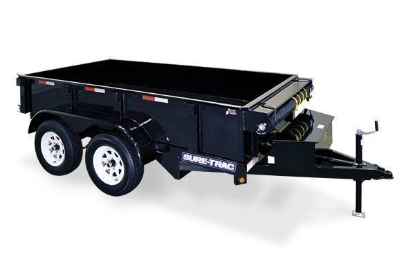 2020 Sure-Trac 5x8 5K Homeowner Dump Trailer