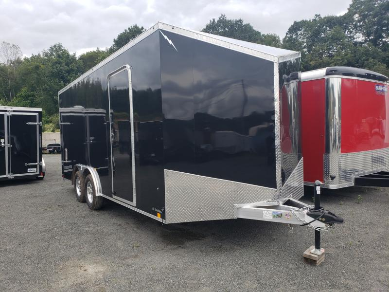 2020 Forest River Lightning 8.5x18 Enclosed Car Hauler Trailer