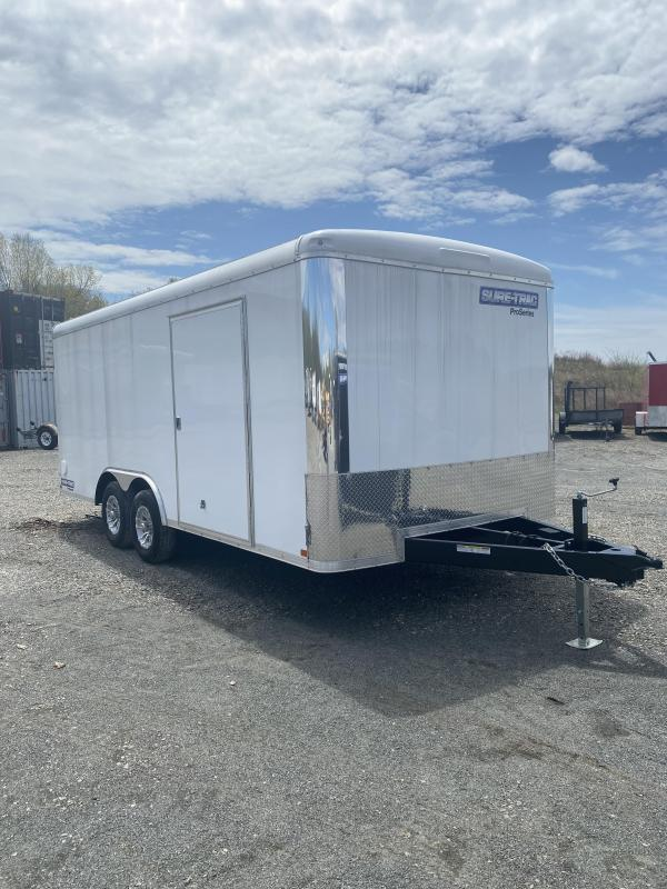 2020 Sure-Trac 8.5x18 10K Pro Round Top Car Hauler