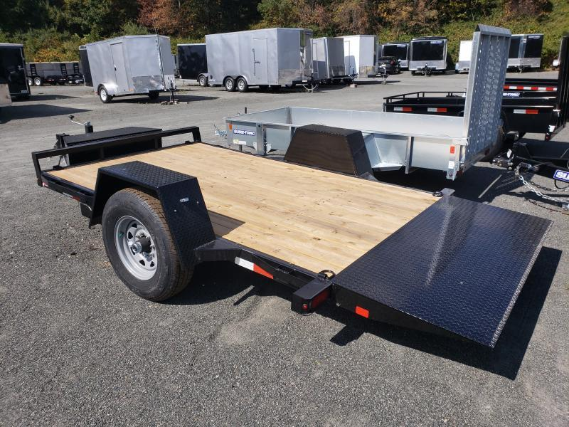 2020 Sure-Trac 6.5x12 7.8K Single Axle Tilt Equipment Trailer