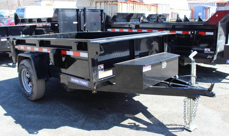 2020 Sure-Trac 5x8 5K Homeowner Dump Trailer