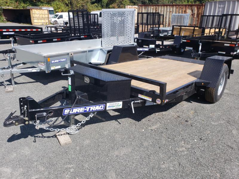 2019 Sure-Trac 6.5x12 7.8K Single Axle Tilt Equipment Trailer
