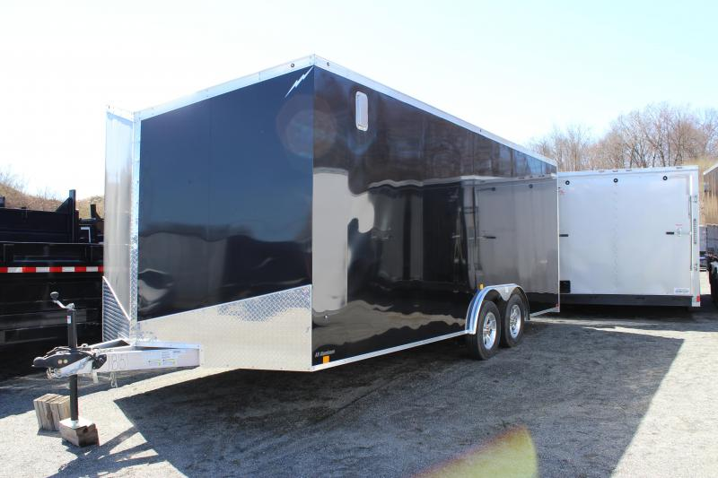 2020 Forest River Lightning 8.5x20 Enclosed Car Hauler Trailer