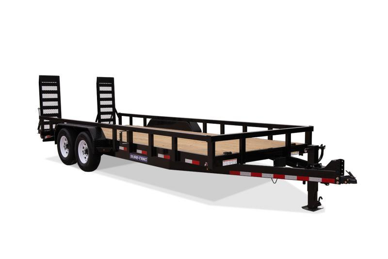 2020 Sure-Trac 7x18+2 14K Heavy Duty Equipment Equipment Trailer