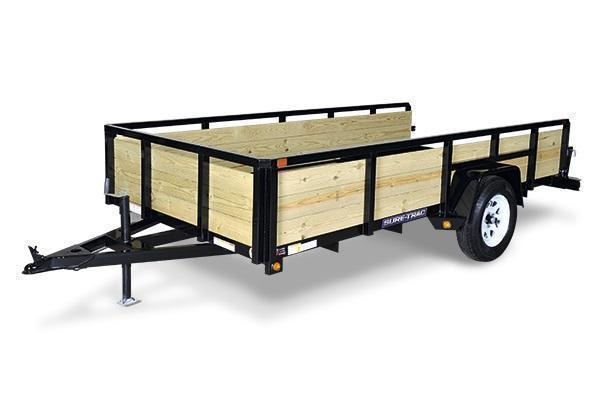 2020 Sure-Trac 6x10 Tube Top 3-Board Utility Trailer