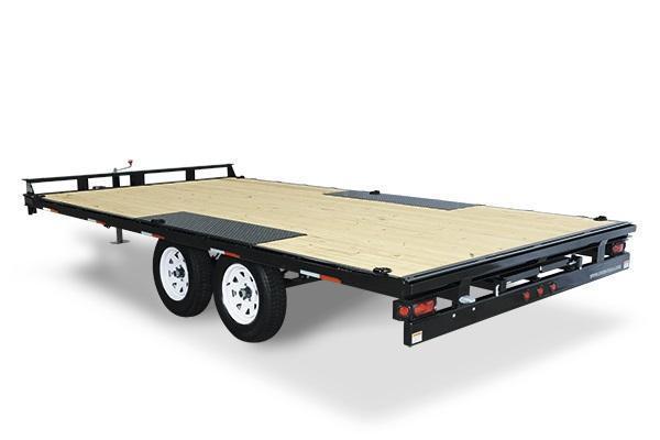 2020 Sure-Trac 8.5x20 10K Flatbed Deckover Equipment Trailer