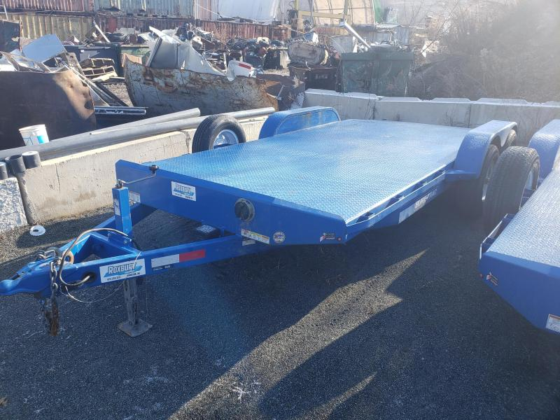 2018 Sure-Trac 7x18 10K Steel Deck Car Trailer