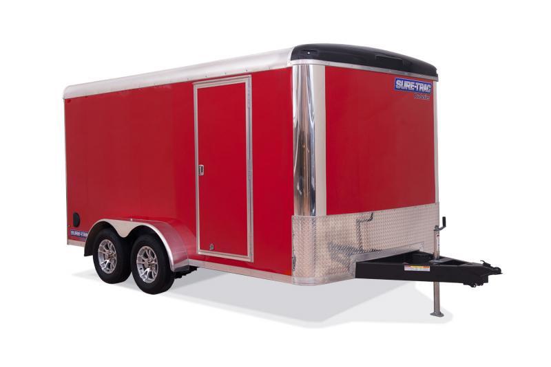 2020 Sure-Trac 7x16 Pro Series Round Top Enclosed Cargo Trailer