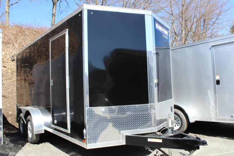 2020 Sure-Trac 7x16 Enclosed PRO SERIES WEDGE Cargo Trailer