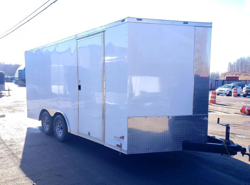 2020 Anvil 8.5x16 7K Enclosed Car Hauler Trailer